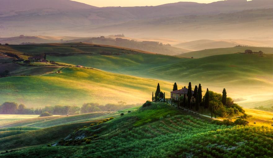 Keliones i Italija