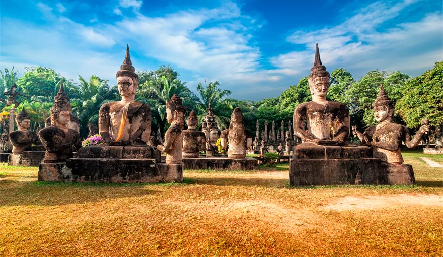 Keliones i Laosa