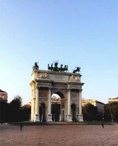 Taikos arka Milane