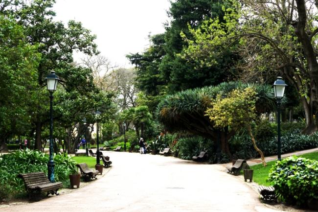 Jardim da Estrela Parkas Lisabonoje