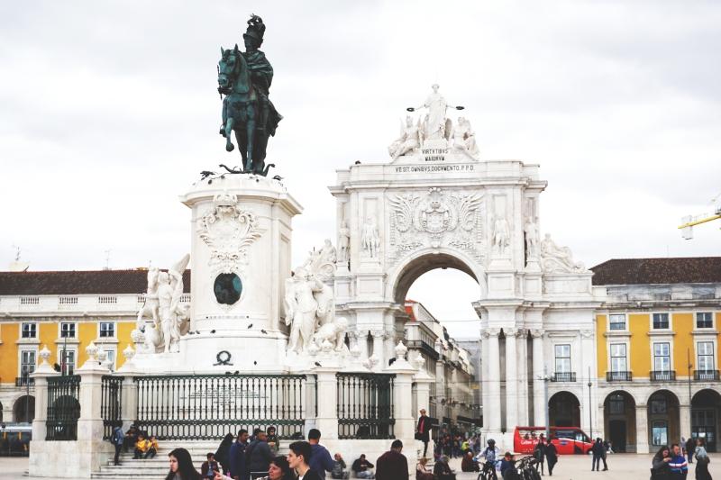 Rua da Augusta aikštė Lisabonoje