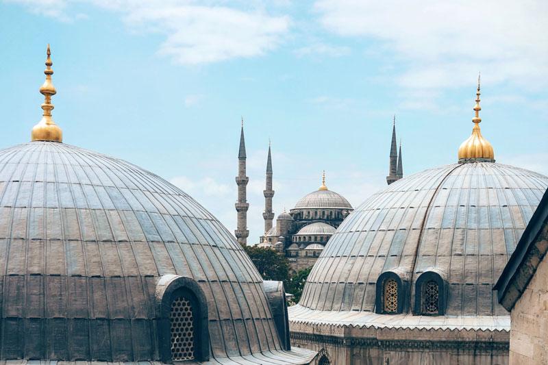 Stambulo stogai - Mėlynoji mečetė