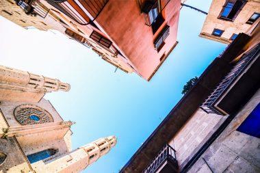 Barselonos architektūra, stogai, dangus