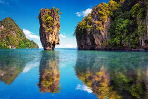 Tailando gamta, įspūdingos uolos