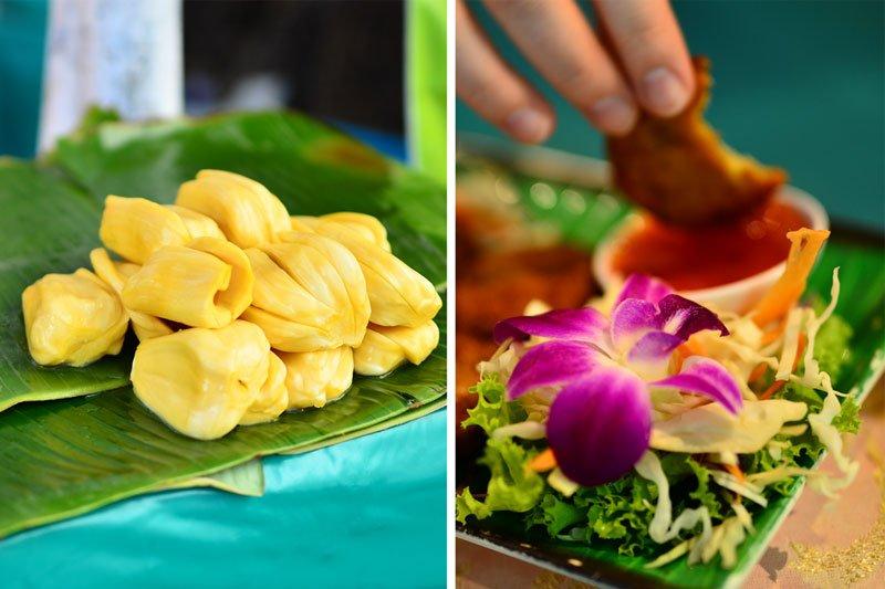 Egzotiški patiekalai Tailande
