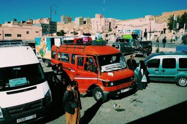 Maroko miesto centras, transportas