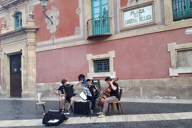 Muzikantai Mursijoje