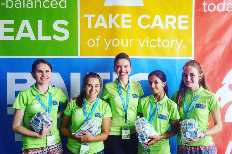 Baltic Tours komanda laukia sportininkų su maisto kuponėliais