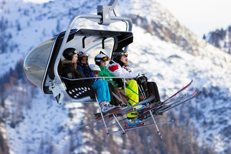 Alps, ski lift
