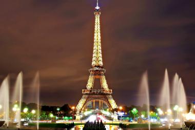 Paryžiaus lankytinos vietos. Eifelio bokštas