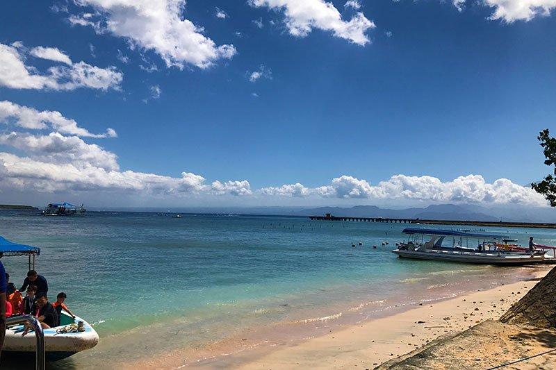 Nusa penida pakrantė