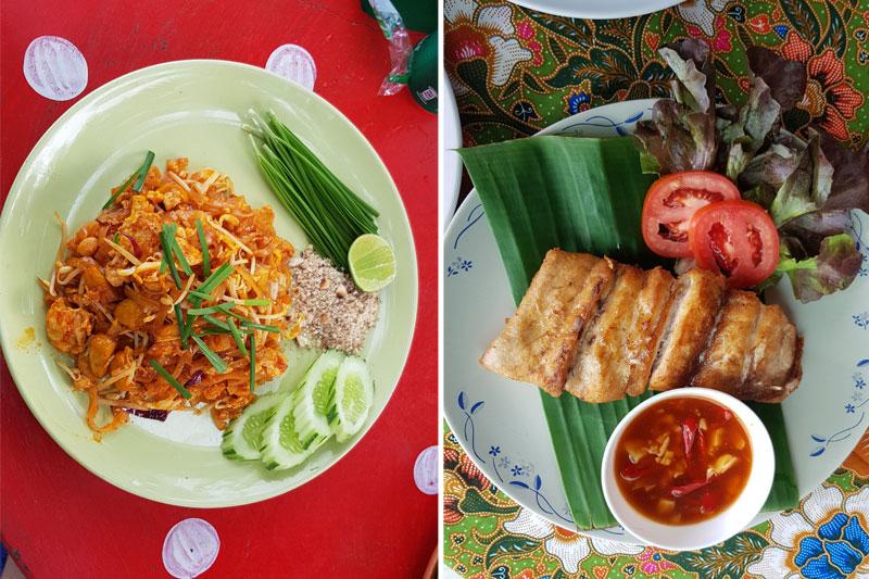 Pad thai patiekalas, tailandietiški patiekalai