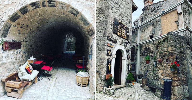 Albergo Diffuso miestelis, Abruzzo regionas, Italija