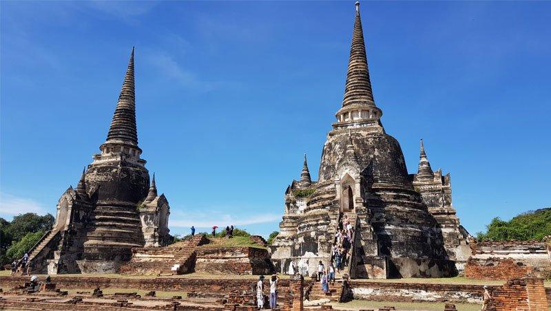 Senoji Ayutthaya sostinė, Tailandas