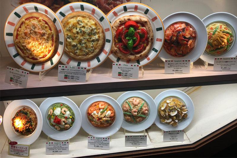 Silikoniniai maisto pavyzdžiai, Japonija