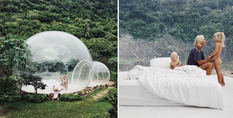 Name burbule, Balis