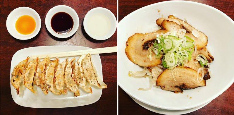 Japoniškas maistas: gyozo koldūnai