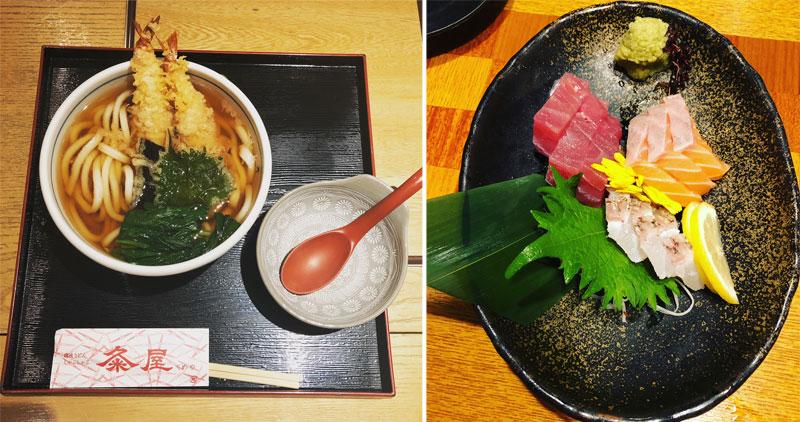Japoniškas maistas: udonai, sašimis