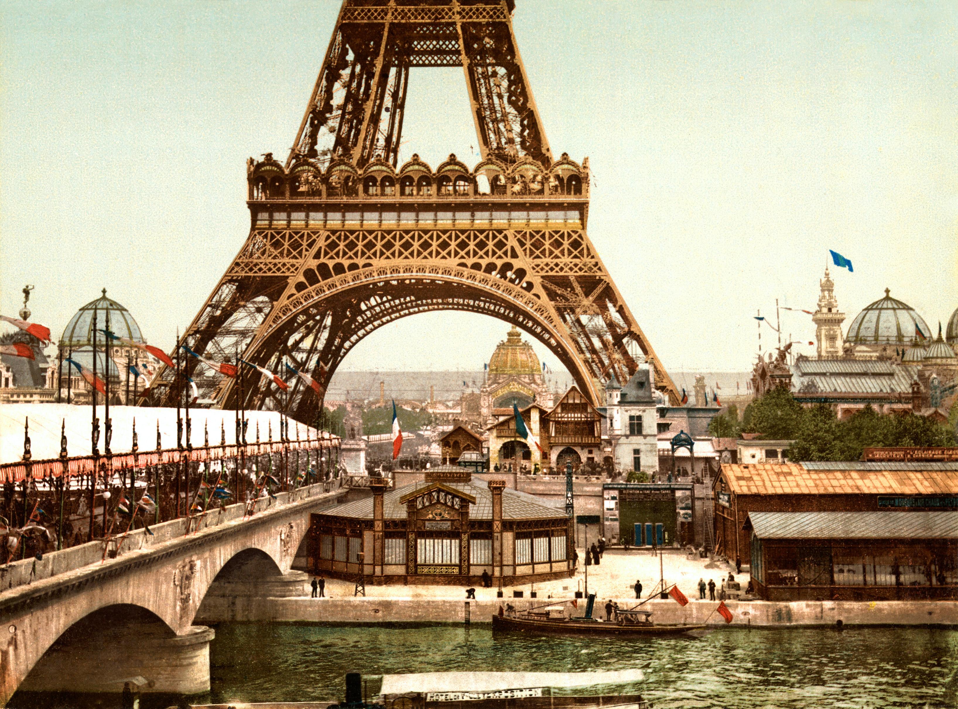 Eifelio bokštas, Paryžius