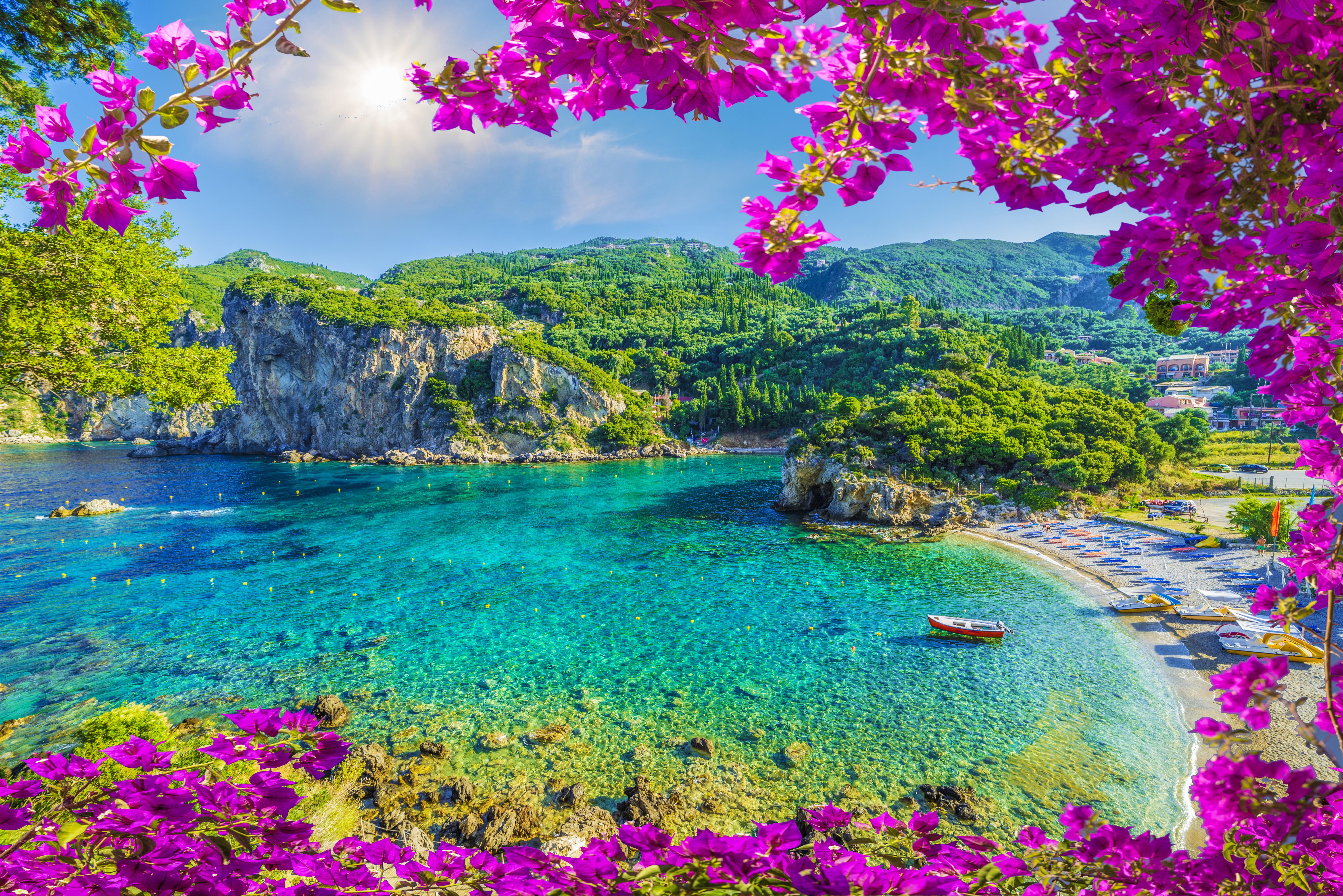 Paleokastritsa, Korfu sala