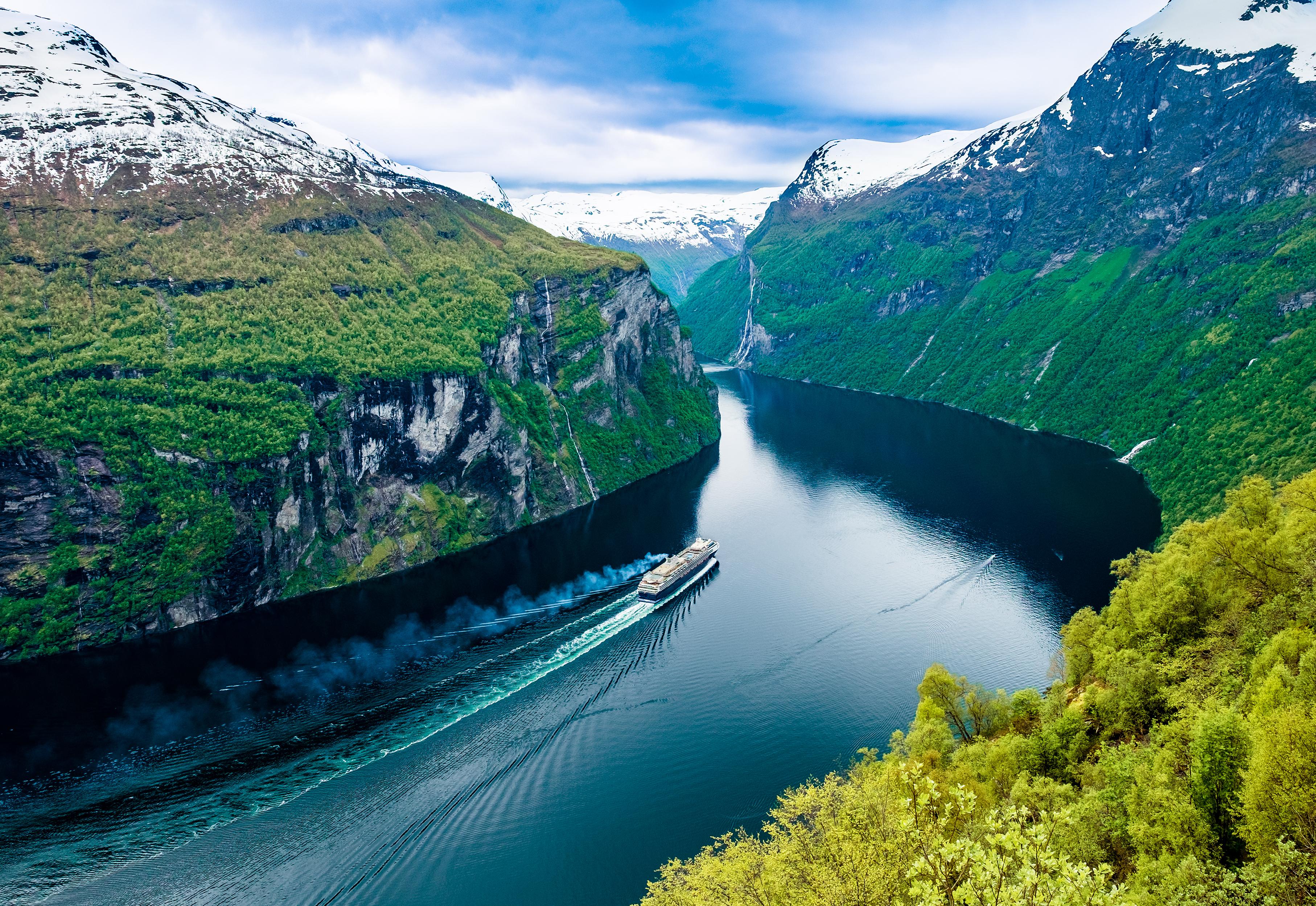 Norvegija, Geiranger fjordas