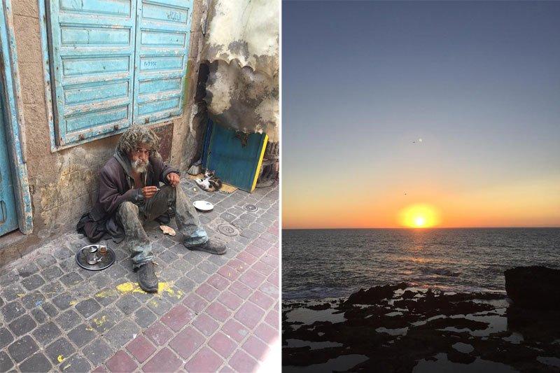 Benamis Maroke, saulėlydis