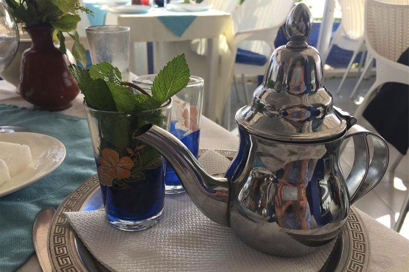 Mėtų arbata, Marokas
