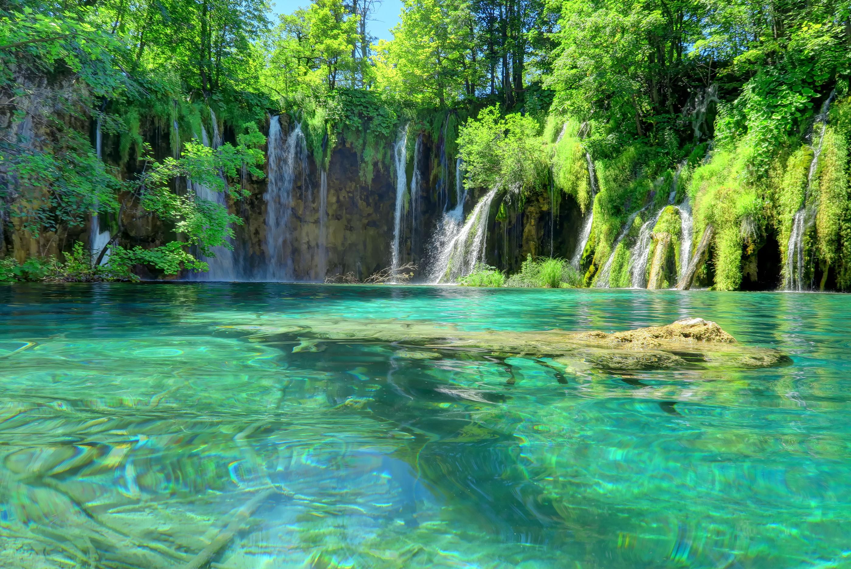 Plitvicos ežerai, Kroatija