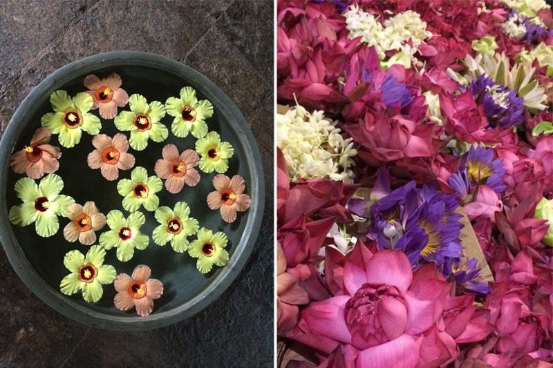 Šri lankiečiai mėgsta gėles