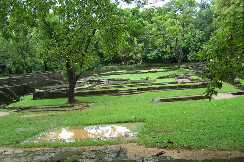 Ant Sigirijos uolos