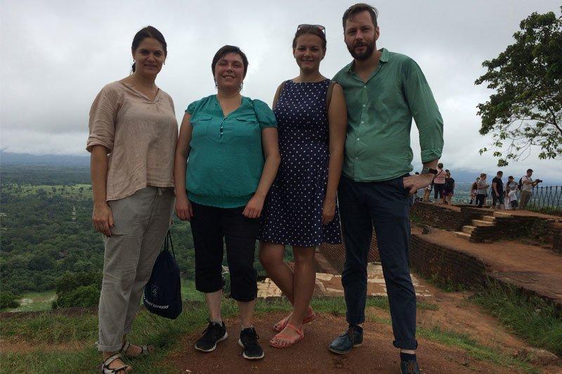 Lietuviai Šri Lankoj, Sigirija
