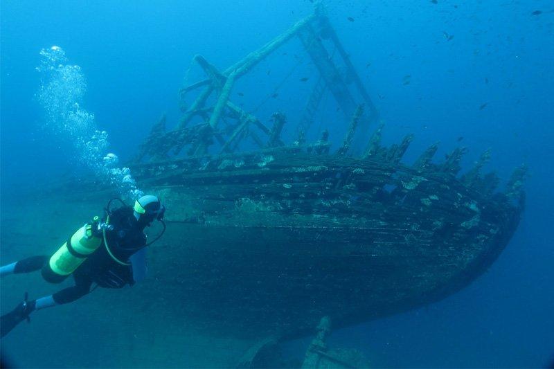 Nuskendęs laivas